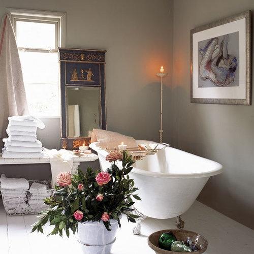 Богемный стиль в интерьере ванной