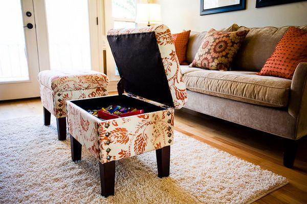 Ящик для хранения в мебели