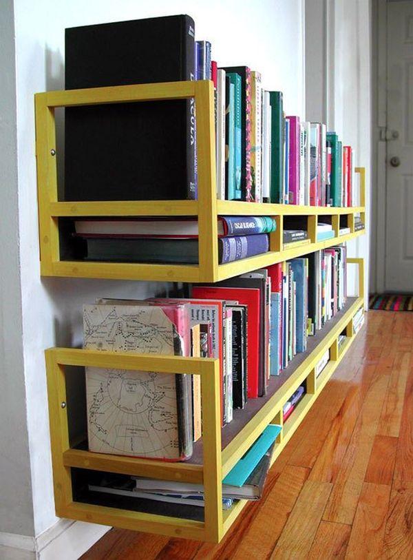 Полки для хранения книг