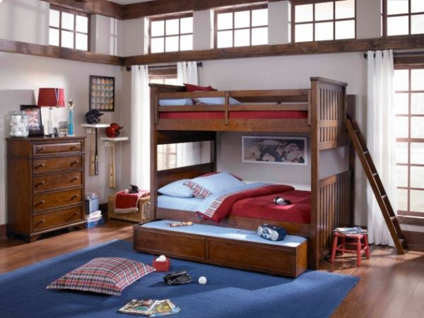 Дополнительное выдвижное спальное место в детской