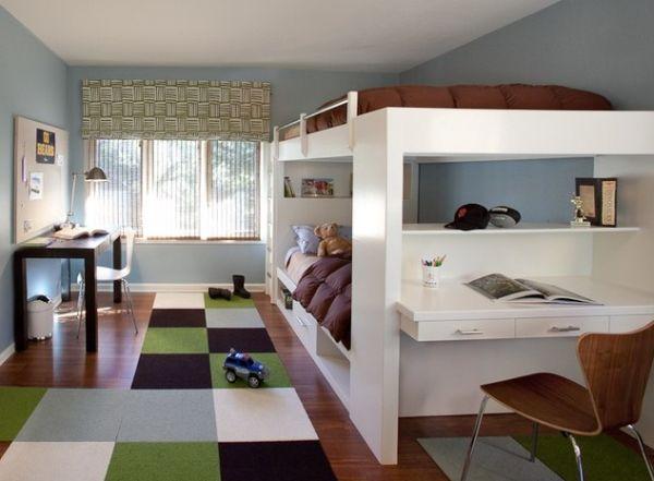 Многофункциональная кровать в детской