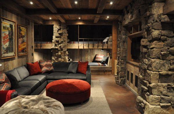 Спальня в средневековом стиле