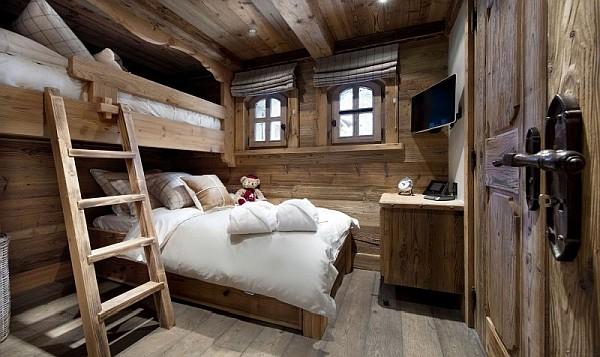 Роскошная спальня в номере отеля