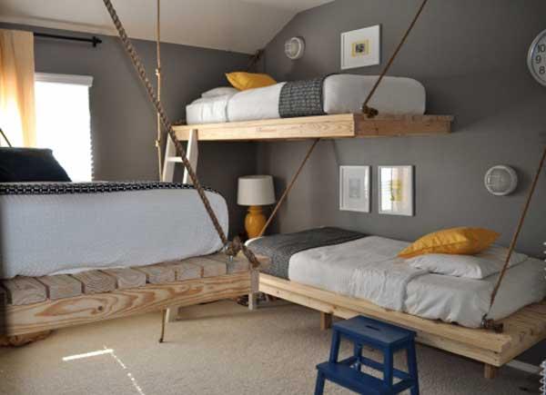 Креативное оформление детской комнаты