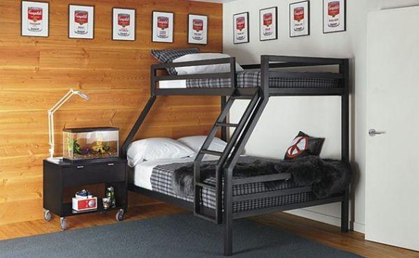Спальня в урбанистическом стиле