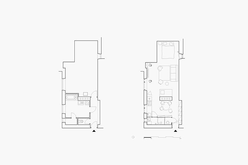 План малогабаритной квартиры в Словакии