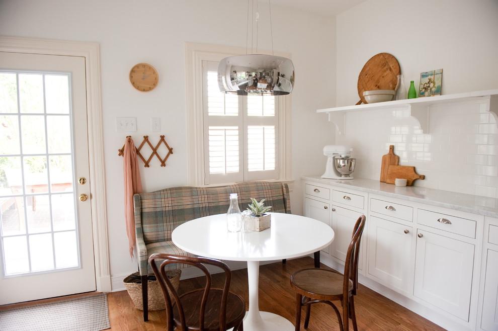 Фактурная мебель на кухне