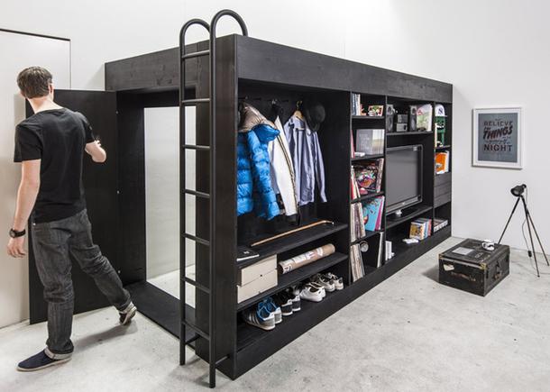 Комната в шкафу