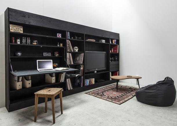 Шкаф с откидным рабочим местом