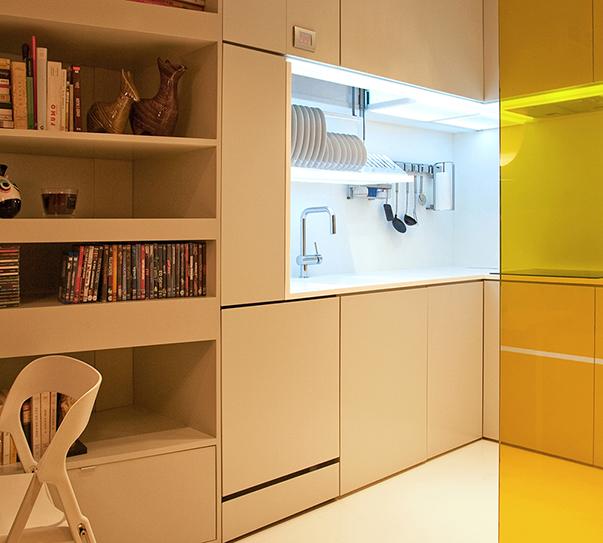 Кухня в футуристическом стиле