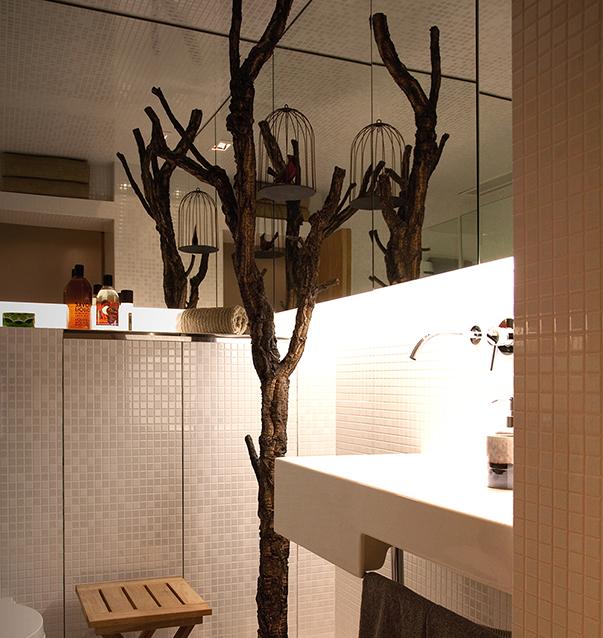 Футуристический стиль в интерьере ванной