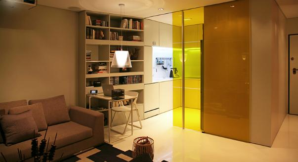 Футуристический стиль в интерьере квартиры