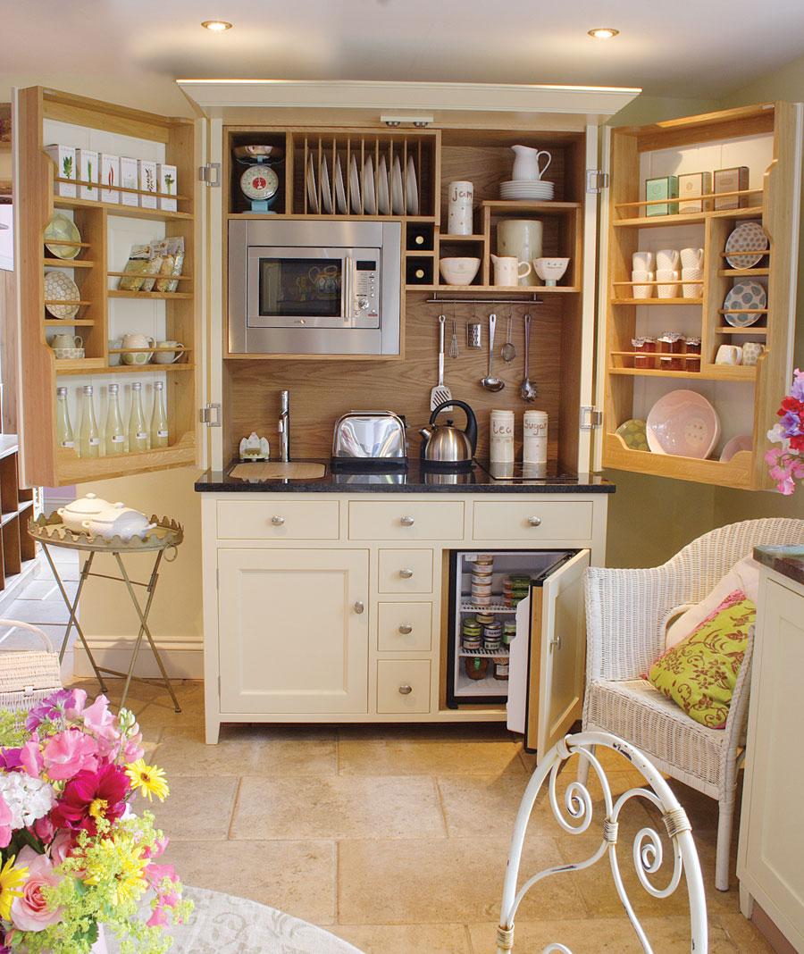 Интерьер пространства кухни