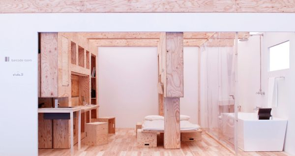 Интерьер квартиры с трансформируемой мебелью