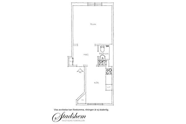 План квартиры небольших размеров