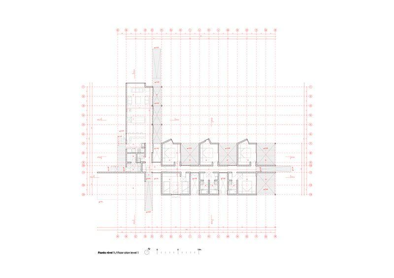 Планировка деревянного модульного дома
