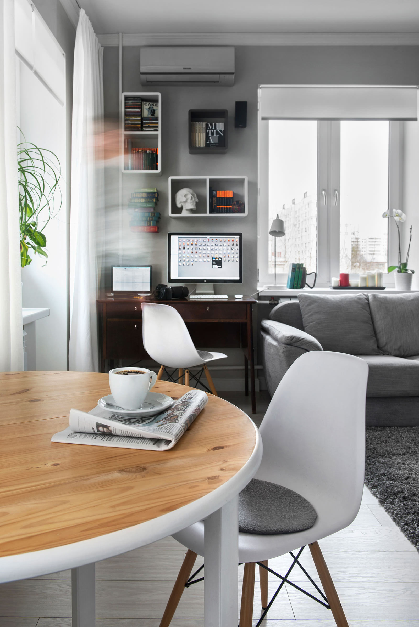 Интерьер квартиры-студии в хрущёвке