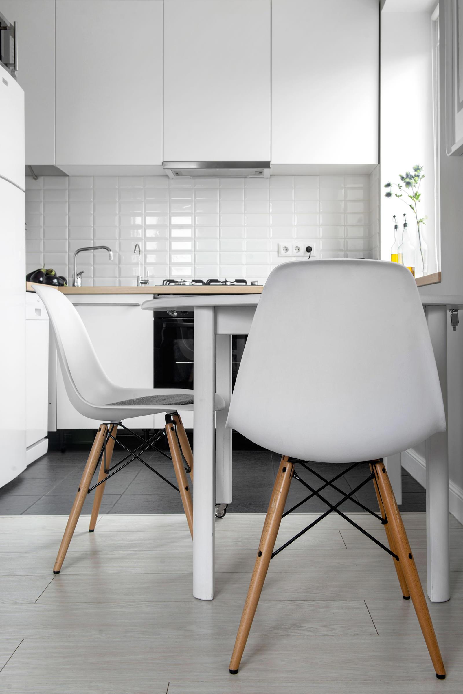 Кухня квартиры-студии в хрущёвке
