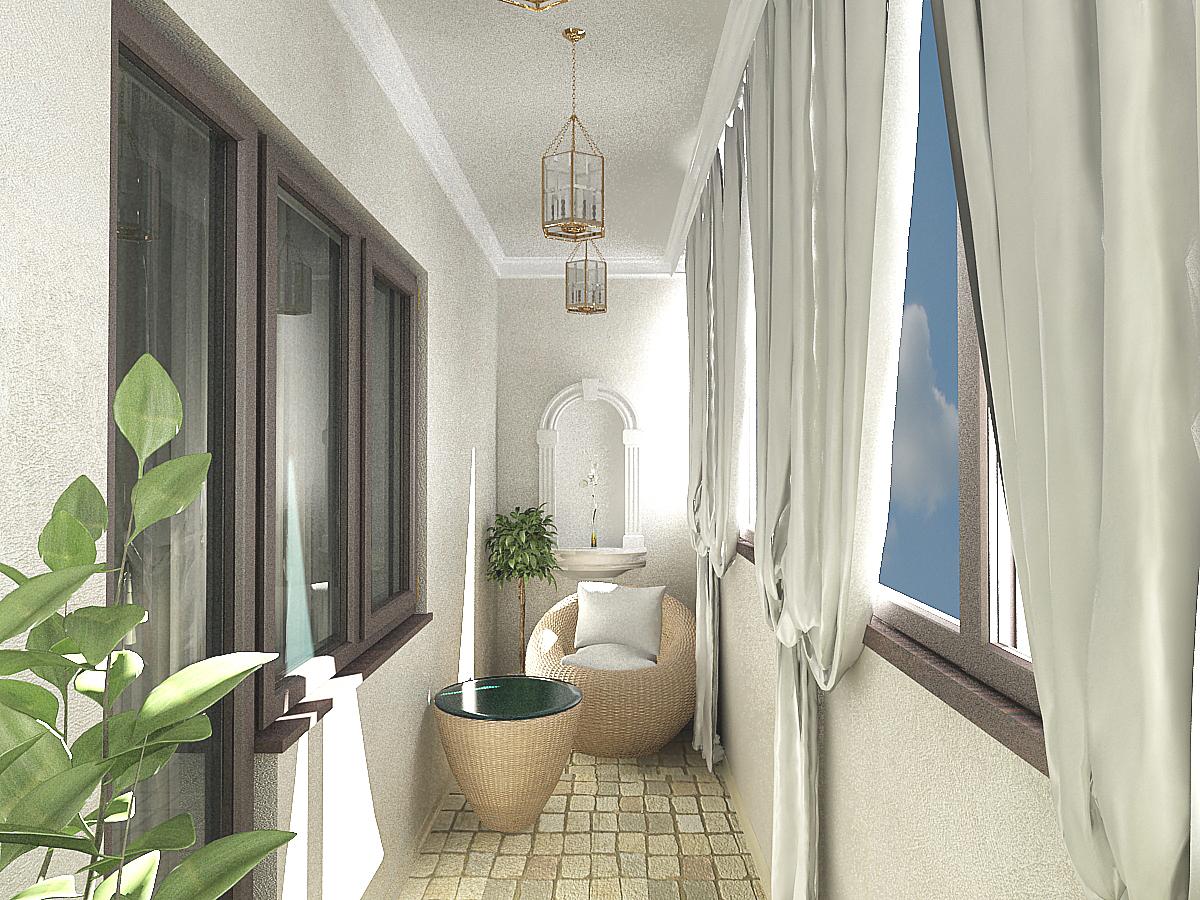 Дизайн балкона 3 кв м фото..