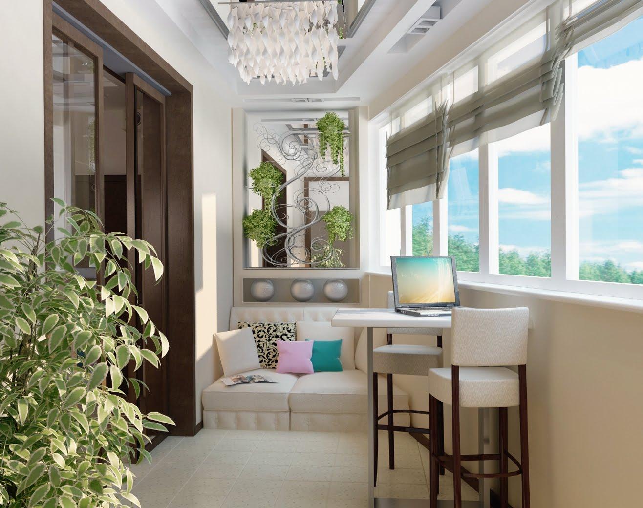 Дизайн теплого балкона фото 2016 современные идеи