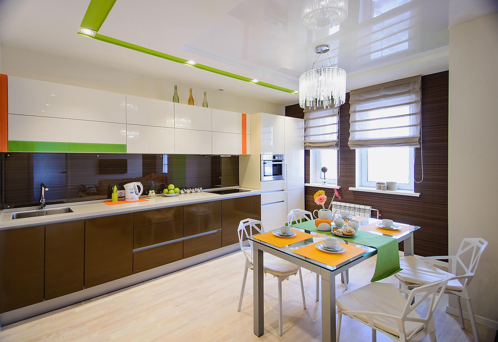 Дизайн для маленькой кухни