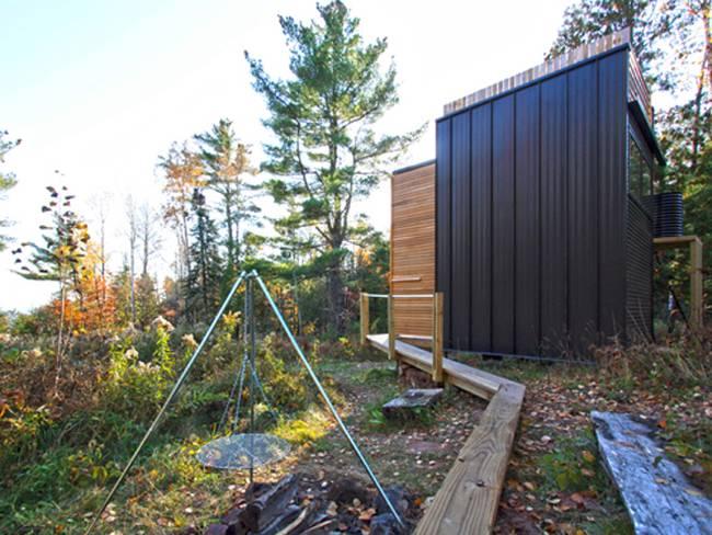 Дизайн дома из контейнеров. Проект дома у озера