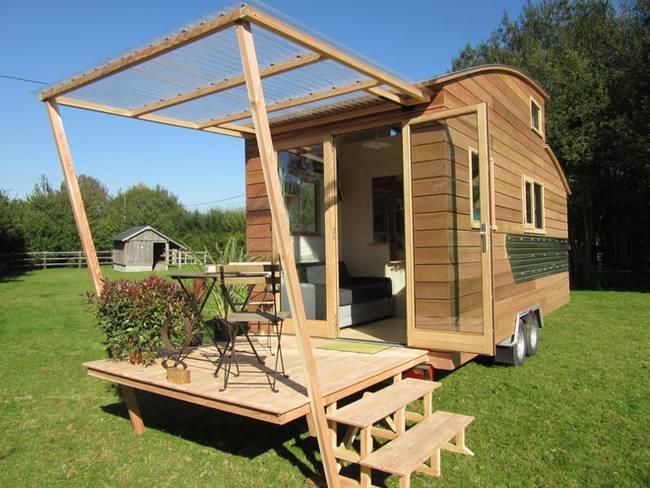Дизайн дома на колёсах от La Tiny House