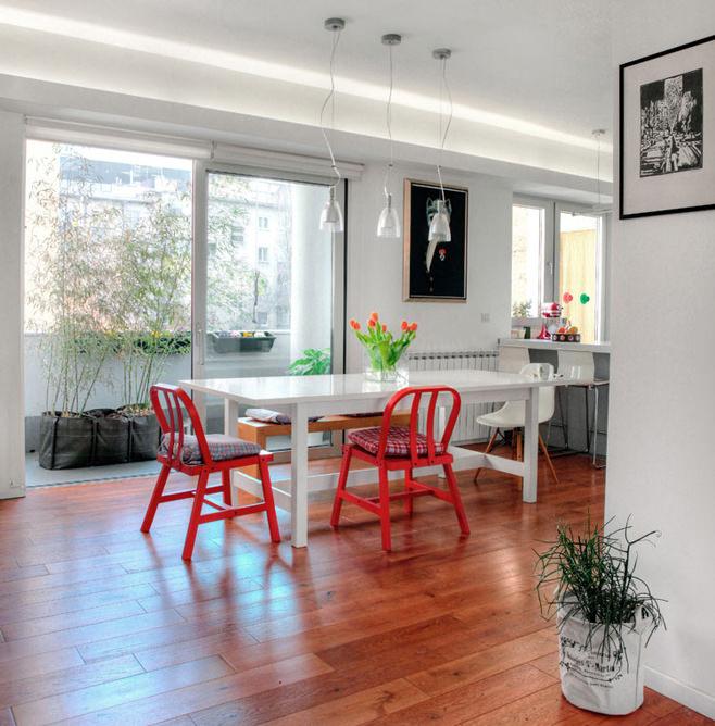 Оригинальное оформление квартиры от DAR612