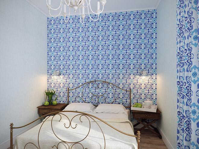 Изумительный интерьер квартиры в средиземноморской стиле