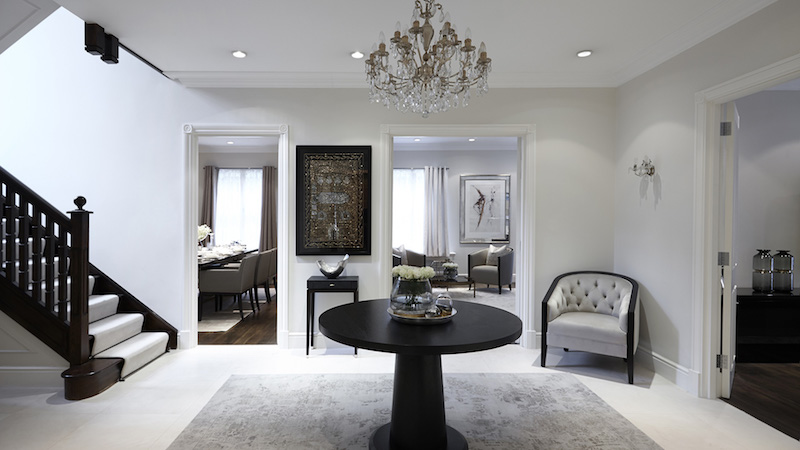 Дизайн интерьера квартиры от студии Boscolo