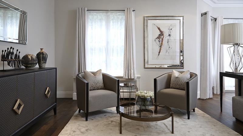 Дорогая мебель в дизайне интерьера квартиры