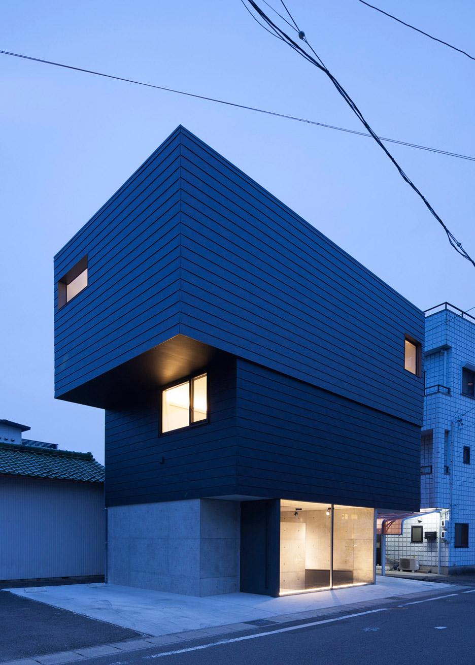Внешний вид маленького дома-студии
