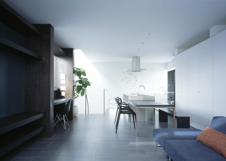 Интерьер жилого помещения в маленьком доме-студии