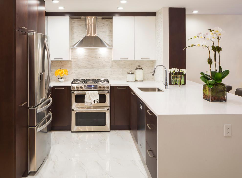 Дизайн интерьера маленькой кухни после ремонта