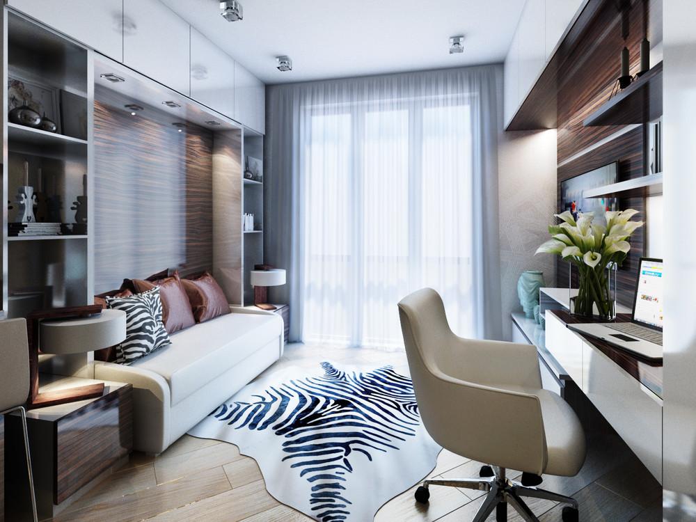Дизайн интерьера маленькой квартиры в классическом стиле - фото 4