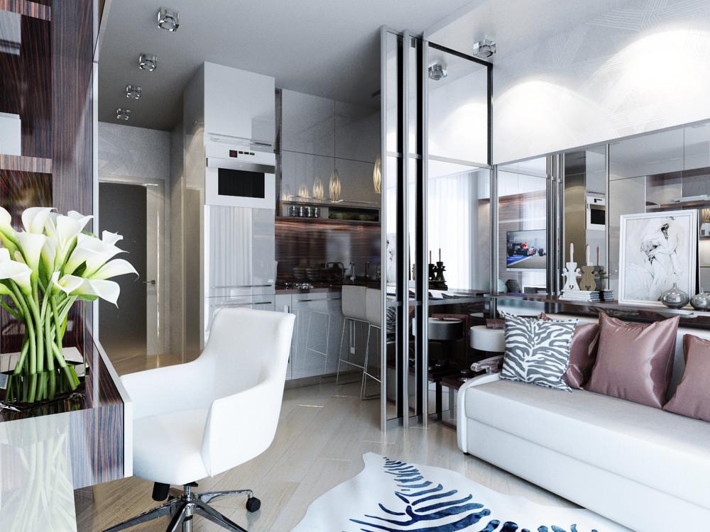 Дизайн интерьера маленькой квартиры в классическом стиле
