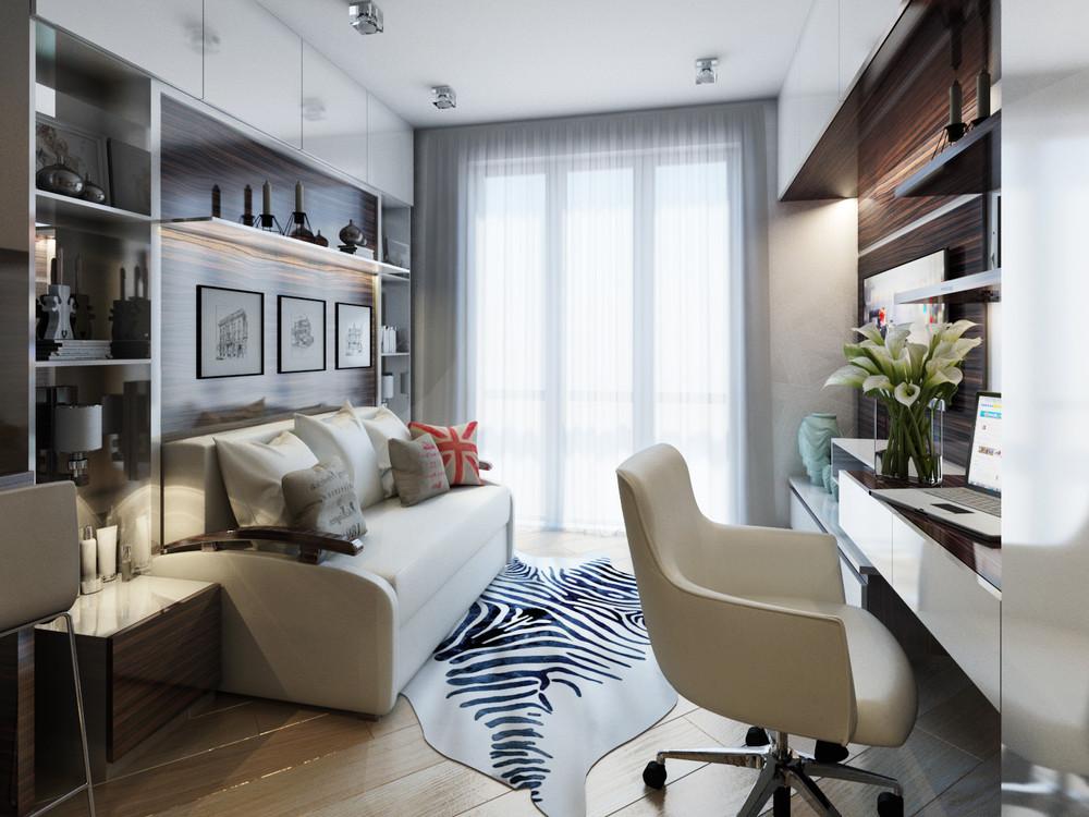 Дизайн интерьера маленькой квартиры в классическом стиле - фото 9