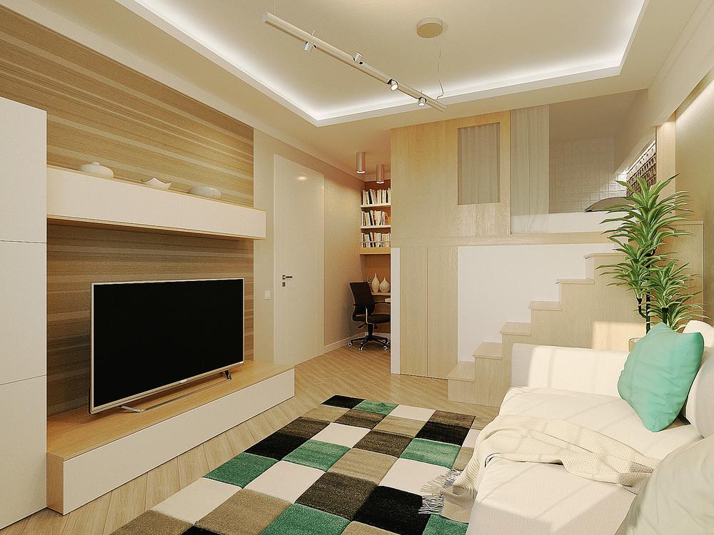 Дизайн интерьера маленькой двухуровневой квартиры - фото 3