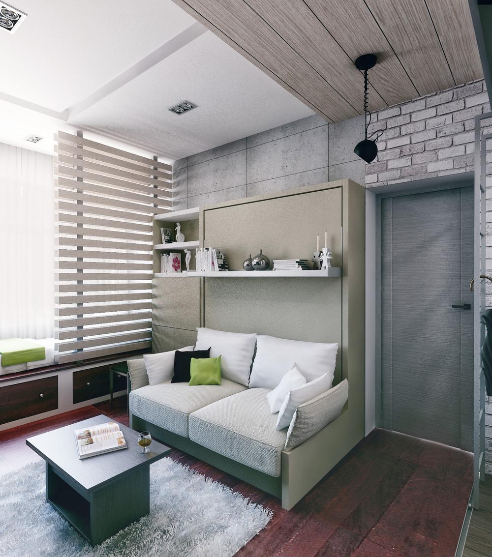 Кровать Merphy в маленькой квартире