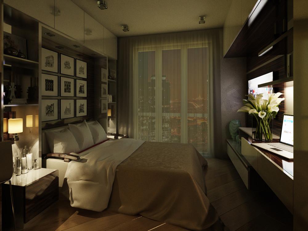 Дизайн интерьера маленькой квартиры в классическом стиле - фото 10