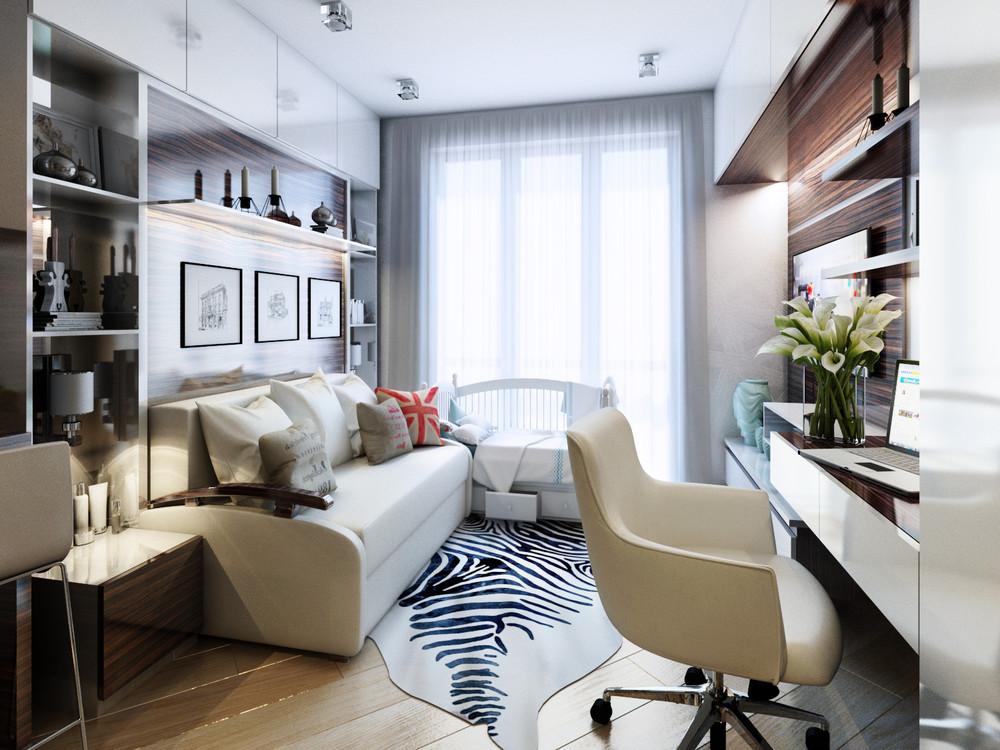 Дизайн интерьера маленькой квартиры в классическом стиле - фото 8