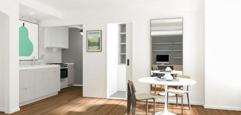 Дизайн интерьера маленькой квартиры в белом цвете