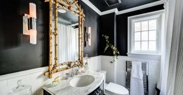 Удивительные интерьеры маленьких ванных комнат