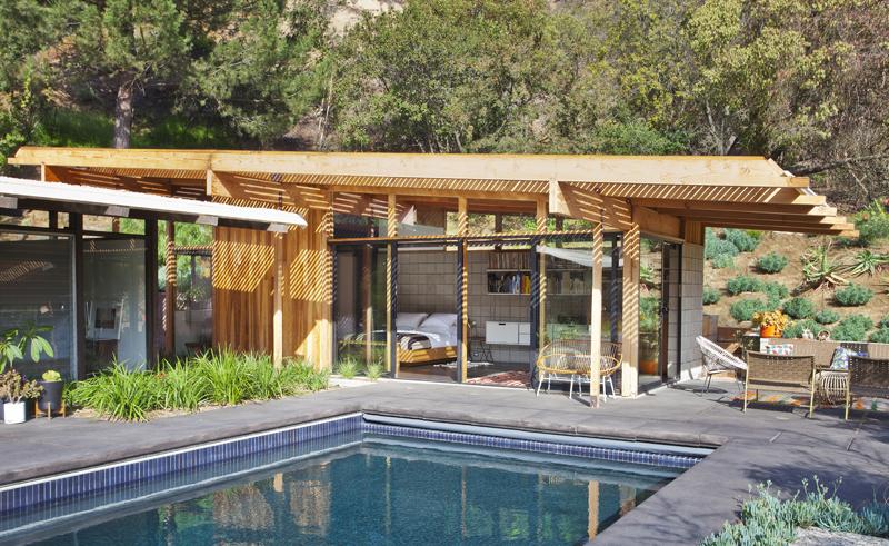 Дизайн интерьера небольшого дома в стиле 50-х
