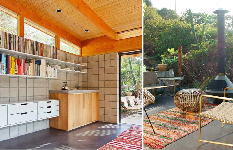 Дизайн небольшого дома с патио