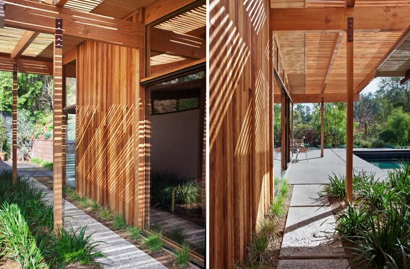 Деревянные фасады небольшого дома