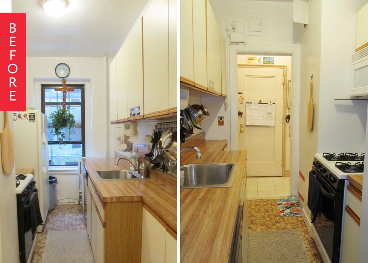 Интерьер очень маленькой кухни до начала работ