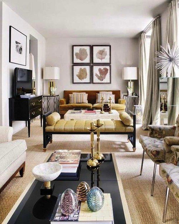Интерьер стильной гостиной
