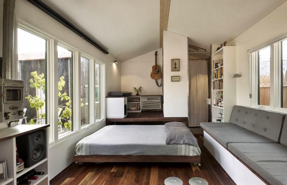 Дизайн интерьера крошечного дома - фото 2
