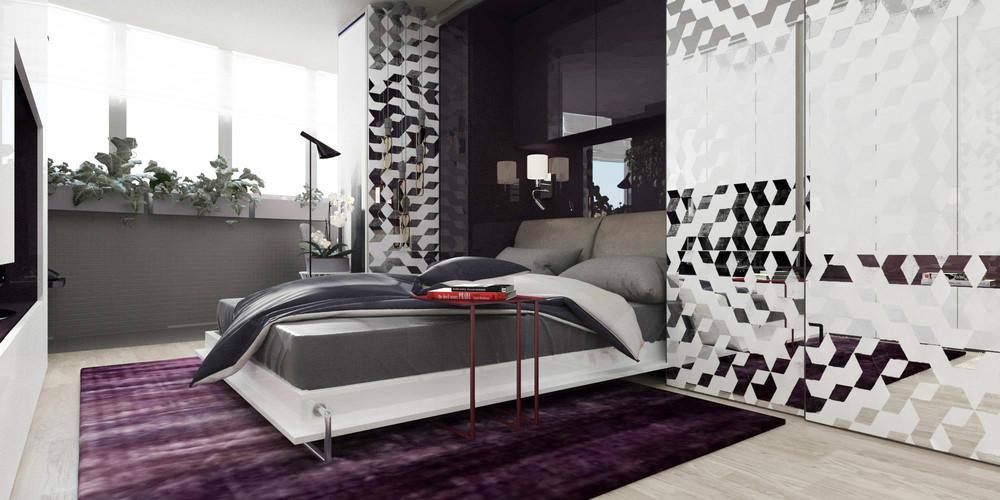Раскладной диван в крошечной квартире